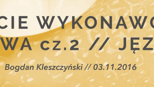 Bądźcie wykonawcami słowa cz.2 // Język