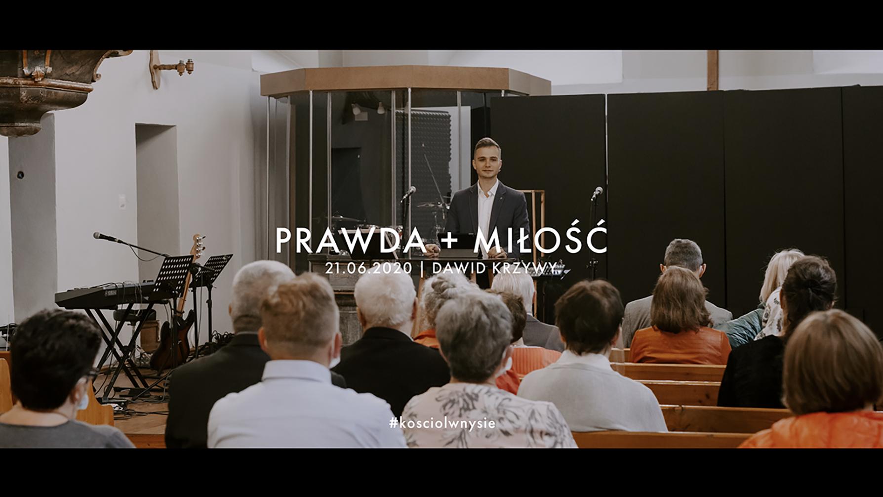 Prawda + Miłość. Dawid Krzywy