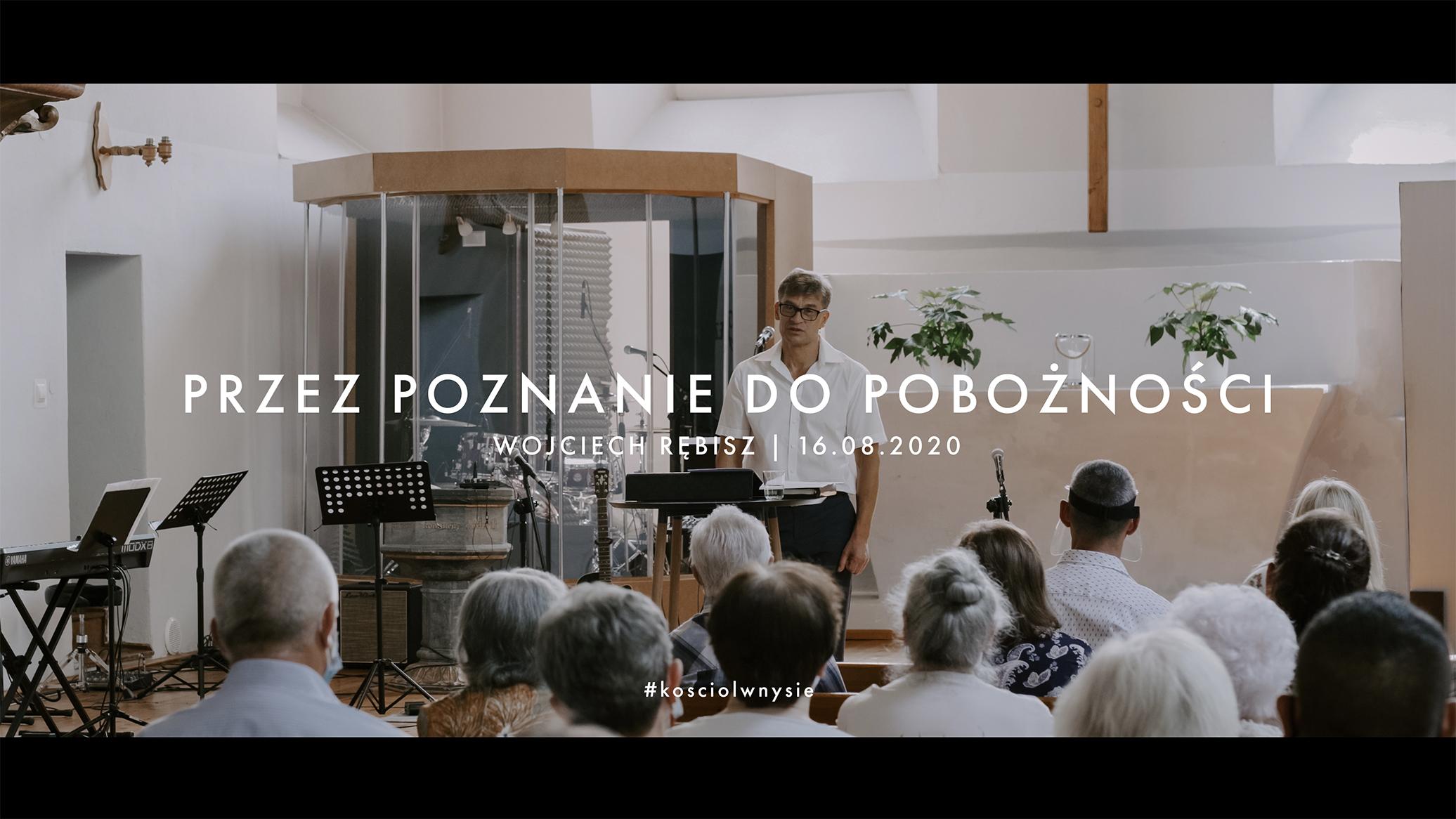 Przez poznanie do pobożności - Wojciech Rębisz