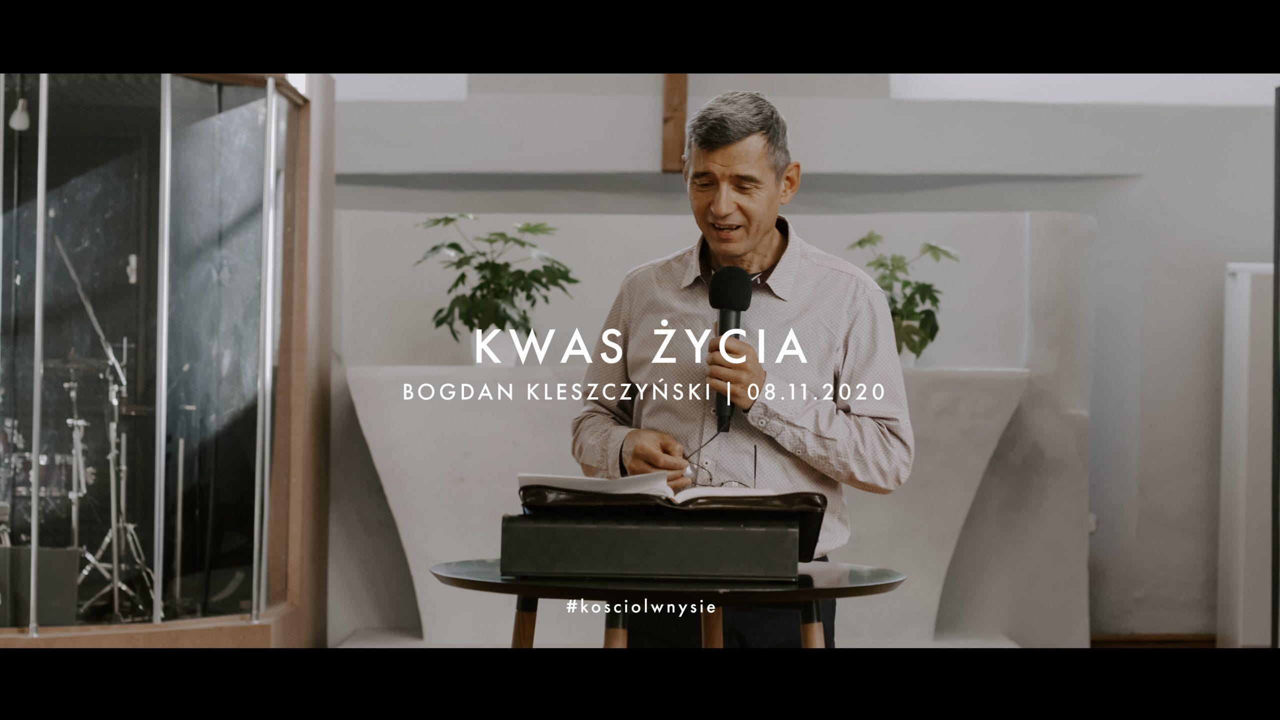 Kwas życia - Bogdan Kleszczyński