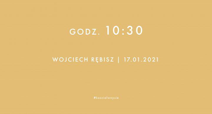Nabożeństwo 17.01.2021
